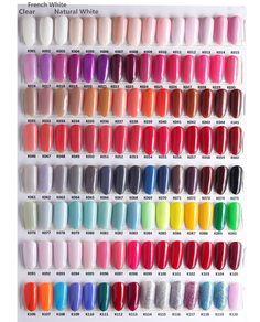 Arrival colors dipping powder without lamp cure nails dip gel nail Acrylic Nails Natural, Colored Acrylic Nails, Summer Acrylic Nails, Best Acrylic Nails, Dip Gel Nails, Nail Manicure, Manicures, Solid Color Nails, Gel Nail Colors