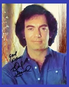 Neil Diamond, signed photo