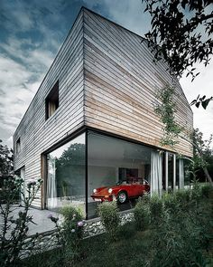 The T-Bone House by Coast Office Architecture in Stuttgart, Germany.