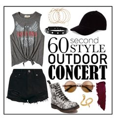 """Concert Style"" by kathrynesker on Polyvore featuring Dr. Martens, Hollister Co., Madina Visconti di Modrone, 60secondstyle and outdoorconcerts"
