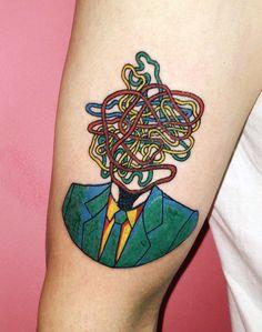 Top 60 Meilleur Pop Art Tattoo Designs For Men - Idées d'encre Gras - http://clubtatouage.com/2016/08/03/top-60-meilleur-pop-art-tattoo-designs-for-men-idees-dencre-gras.html