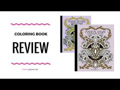Magical Dawn Coloring Book Review With Comparison Of Swedish Edition Magisk Gryning By Hanna Karlzon