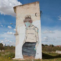 De paseo por los muros.  #gobi #holagobi #graffiti #urbanart #streetart #abandonedplaces #cap #interpretacionpoetica #art #accionpoetica #poema #tomelloso