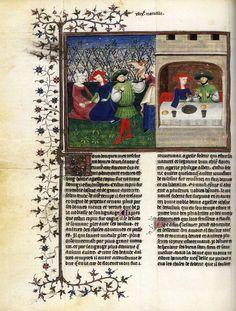 Boccaccio, Dekameron, BNF, 1414-19