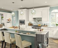 The blue accents in this kitchen are just dreamy. 😍 what do you think yes or no? . . . . . . #kitchens #kitchendesign #interiorstyling #luxuryrealestate #decor #interiordesign #realestateinvestor #realestate #realestatelife #realestatebroker #realestateexperts #realestatemarketing #luxuryhomes #design #homedecor #paradeofhomes #utah #socialmedia  #utahhomes #utahrealestate #jordanrealestate #agent #homestaging #marketing  #homeinterior #localrealtors - posted by ATRE-Affiliate…