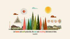 Verse of the Day from Logos.com    시편 69:34, 천지가 그를 찬송할 것이요, 바다와 그 중의 모든 생물도 그리할지로다.