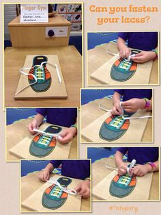 Finger Gym in action. Fine motor skills