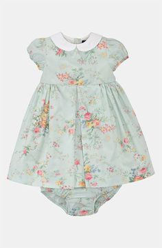 Ralph Lauren Floral Dress Bloomers (Infant) | Nordstrom