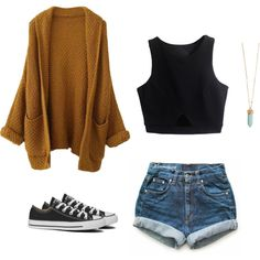 Sin título #186 by iaru12 on Polyvore featuring moda, Levi's and Converse