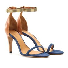 Isabel Marant - Adele Leather and Suede Sandals
