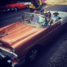 Nothing like a FAMILY drive in a classic convertible on a beautiful day. This was one of the many adventures we took on our recent trip to Cuba. #MKMayContest #Family #Cuba