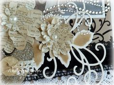 book page flower