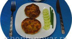 Картофельные котлеты с овощами