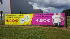 Banderole publicitaire en fabrication express 24H