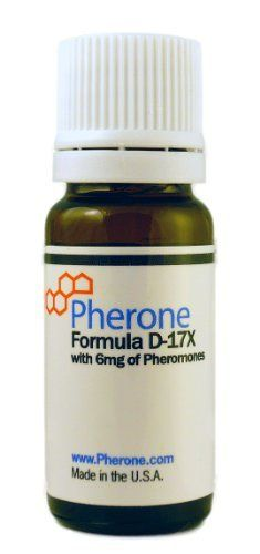 "Pherone Formula D-17X Pheromone Cologne for Men to Attract Women, with Pure Human Pheromones by Pherone. $44.95. Contains pure human pheromones: research-grade androstenone plus an additional 1mg of synergistic pheromones to make it even more powerful.. Ultra Pure Pheromones: 98% or higher purity guaranteed!. Pherone Formula D-17X (which we call ""SuperMacho"") is the strongest dominance pheromone product we know of -- stronger than Primal Instinct, at a lower price point.. Comes..."