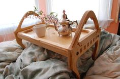 Indulge Breakfast Tray by SEHFab on Etsy, $125.00
