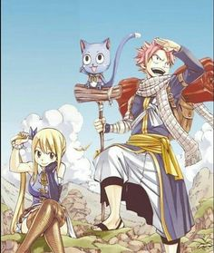 Fairy tail Natsu and Lucy Fairy Tail Lucy, Laxus Fairy Tail, Fairy Tail Amour, Art Fairy Tail, Fairy Tail Quotes, Anime Fairy Tail, Image Fairy Tail, Fairy Tail Guild, Fairy Tail Ships