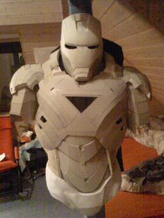Iron Man Cardboard Armor preview 1 by Bullrick.deviantart.com on @deviantART