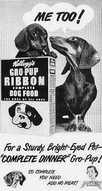 Please Support Our Advertisers:  Kellogg's Dog Food