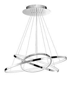 Kourtakis Lighting - Μοντέρνο #φωτιστικο #LED εσωτερικού χώρου με δυνατότητα ρύθμισης του σχήματός του ανάλογα με το γούστο και τη διάθεσή σας. Οι ενσωματωμένοι λαμπτήρες LED προσφέρουν δυνατό #φωτισμό και ταυτόχρονα χαμηλή κατανάλωση ενέργειας. Το θερμό λευκό φως που εκπέμπουν ειναι ιδανικό για μια χαλαρή και ξεκούραστη ατμόσφαιρα.