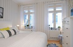 small white bedroom - Google Search