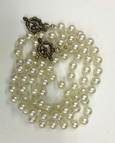 Vintage Pearl Strands by greeneyesgeisha on Etsy