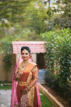 A big fat Indian wedding at JRC Convention, Hyderabad Saree Wedding, Wedding Attire, Bridal Sarees, Indian Wedding Makeup, Indian Bridal, Beautiful Indian Brides, Beautiful Bride, Bridal Beauty, Bridal Makeup