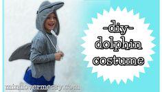 DIY Dolphin Costume
