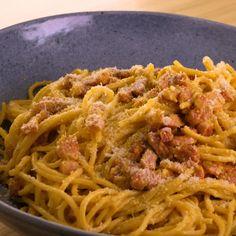 Spaghetti à la Carbonara : Recette de Spaghetti à la Carbonara - Marmiton
