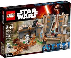 LEGO Battle on Takodana 75139  Organiseer je eigen heftige Star Wars: The Force Awakens duels in het boskasteel met schuifdeur en met muren, trap en boom met omvalfunctie en 5 minifiguren De Leukste LEGO bestel je online bij https://www.olgo.nl/lego/star-wars.html