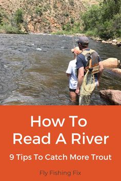 When you first get into fly fishing, one of the most important skills you can learn, is how to read a river. And that's exactly what we're going to cover. Fly Fishing Net, Fly Fishing Basics, Trout Fishing Lures, Best Fishing Rods, Fly Fishing Tips, Fishing Stuff, Fishing Knots, Salmon Fishing, Kayak Fishing
