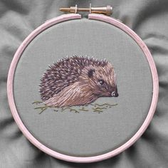 Silk Shading Hedgehog