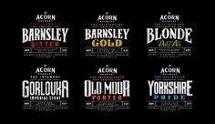 Acorn Brewery Rebrand — The Dieline - Branding & Packaging