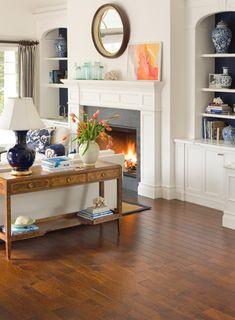 Artisan Hand-Carved Engineered Hardwood Flooring - Agrigento Savio Hickory