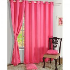Hot_Pink Blackout Curtains-1010