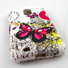 CLICK PIC. TO SHOP: The butterfly hard case snap on cover for the Samsung Galaxy S2 Epic 4G Touch is a great stylish cover case made with Grade A Abs plastic. It protects your phone from scratches and scuffs and is very affordable. Also there are many other cases available. Order today and we will ship the same business day! 15% COUPON CODE : PiNiT