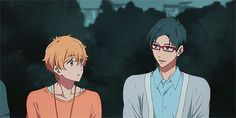 You cuties :3 :: Rei and Nagisa ~ Free! Eternal Summer gif