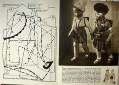 Pattern for Kathe Krüse dolls.