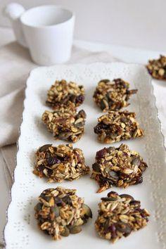 Vegan, glutenfrei & Low-Carb: 15 gesunde Keks-Rezepte Vegan, Stuffed Mushrooms, Vegetables, Breakfast, Food, Graham Cracker Recipes, Grains, Glutenfree, Treats