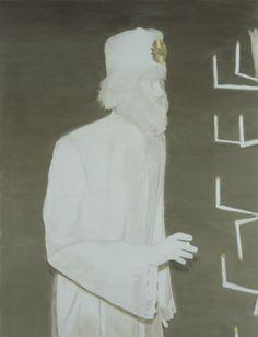 The Worshipper, 2004, 193,0 x 147,5 cm, oil on canvas, Courtesy Zeno X Gallery, Antwerp. Photographer: Felix Thirry