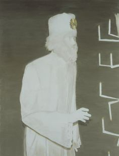 The Worshipper, 2004, 193,0 x 147,5 cm, oil on canvas, Courtesy Zeno X Gallery, Antwerp. Photographer: Felix Thirry