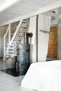 barrel woodstove