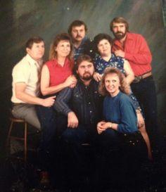 Baldwin family Delbert, tommy, melba, anita, paula, alan, glen