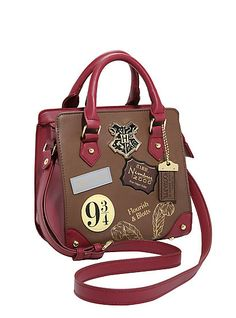 Harry Potter Patch Satchel BagHarry Potter Patch Satchel Bag,