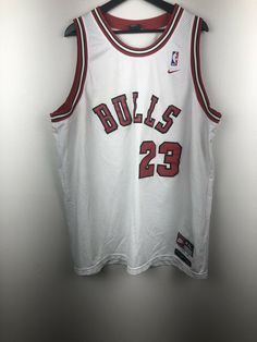 ae955854fb0 Details about Nike NBA Chicago Bulls Michael Jordan Jersey Size XXL