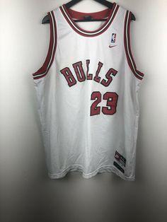 cd8fce409a1 Details about Nike NBA Chicago Bulls Michael Jordan Jersey Size XXL