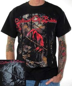 Click for Full Size Image of Children Of Bodom, T-Shirt, Death Forest