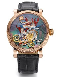 Benzinger Year of the Dragon watch. Beautifully intricate.