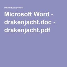 Microsoft Word - drakenjacht.doc - drakenjacht.pdf