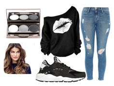 """""""Untitled #164"""" by ani-anita-nita ❤ liked on Polyvore featuring Frame Denim, NIKE and ULTA"""